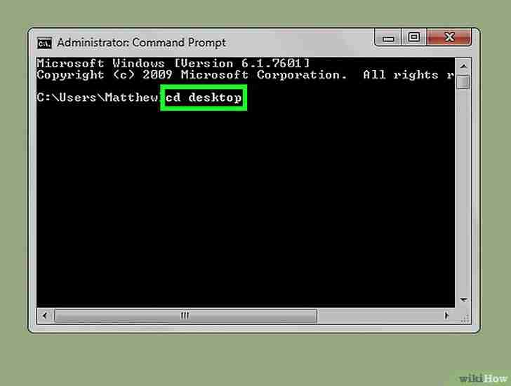 以Delete a File Using Command Prompt Step 8为标题的图片